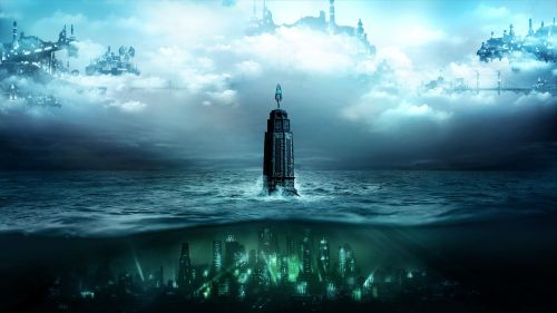The city of Rapture from the first two Bioshock games