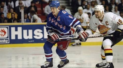 NHL great Adam Graves / Photo courtesy of the New York Rangers