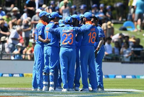 New Zealand v India - ODI Game 1
