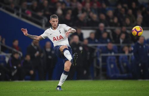 Alderweireld has the ability to play balls from the back