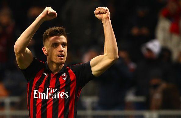Piatek had a stunning start for Milan