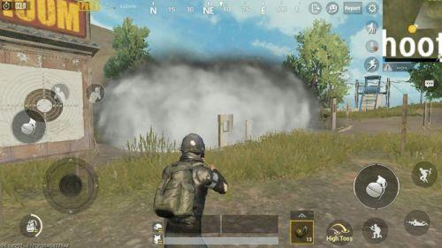 Smoke Grenade - PUBG MOBILE