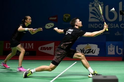Mathias Christiansen at the Indonesia Open