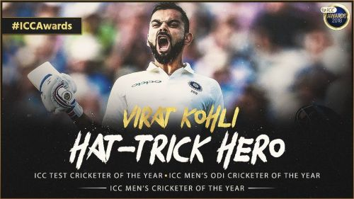 ICC cricketer of the year 2018