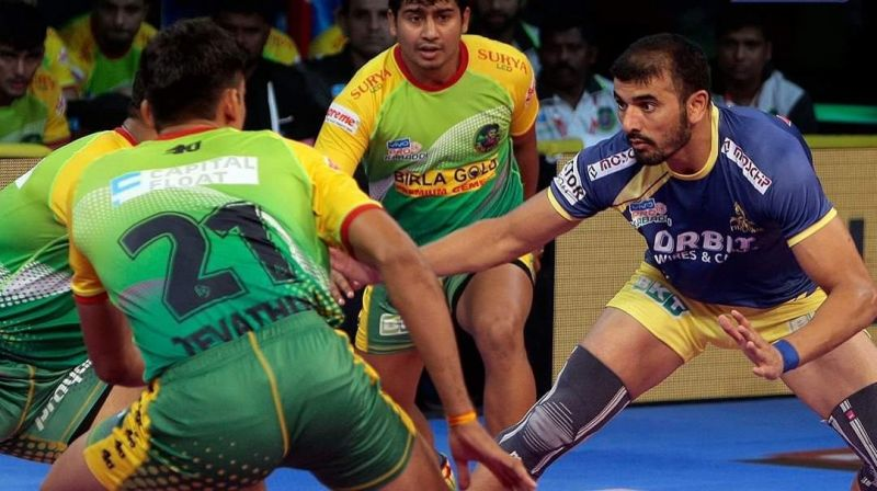 Ajay Thakur could manage to score 3 Super Raids only this season.