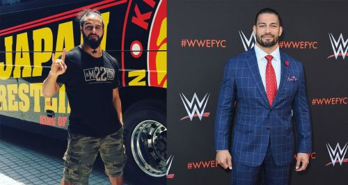 Tama Tonga (left) and Roman Reigns (right)