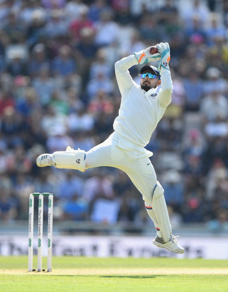 Most catches by an Indian wicket keeper in a test match