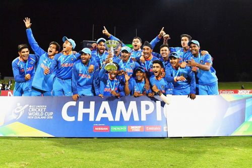 India cruised to the U-19 World Cup title last year