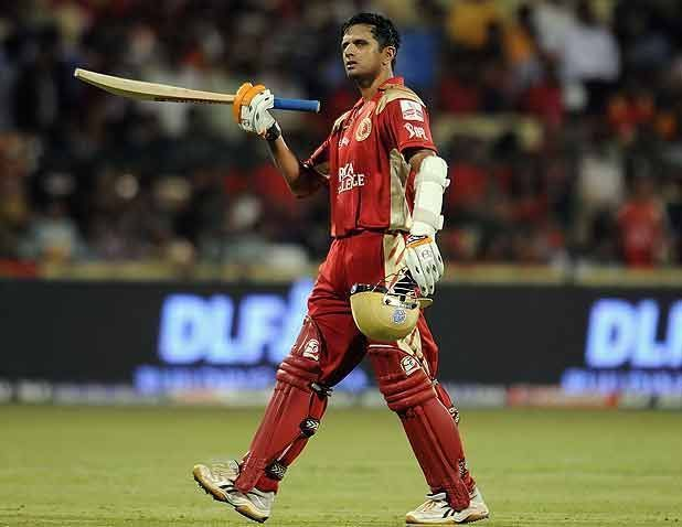 Dravid lead the team in the inaugural season of the IPL