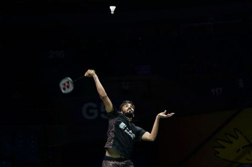 Kidambi Srikanth at the BWF World Championships 2018