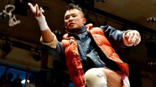WWE were after KUSHIDA in December, did they get him?