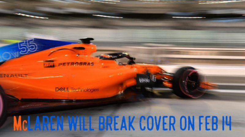 Mclaren To Launch 2019 Car On Valentines Day