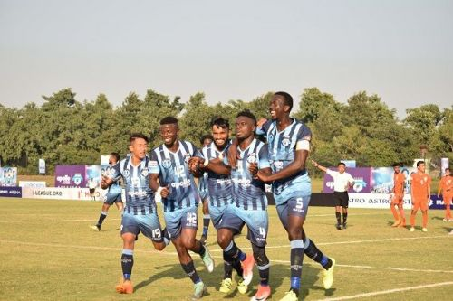 Minerva Punjab's Philip Njoku scored the game's only goal