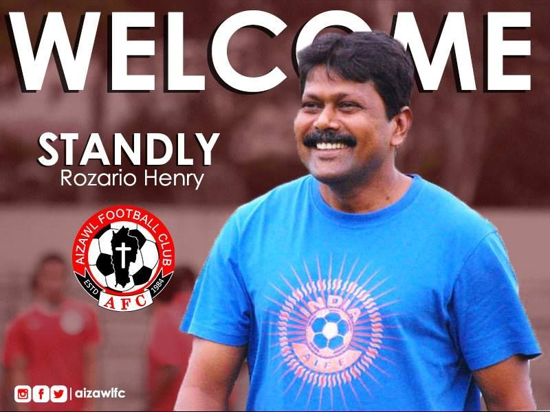 Aizawl FC rope-in experienced coach Stanley Rosario