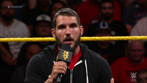 Johnny Gargano issues a challenge to the NXT North American Champion