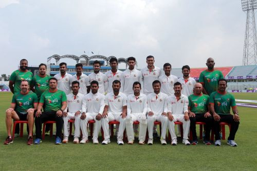 Bangaladesh test team for NZ series