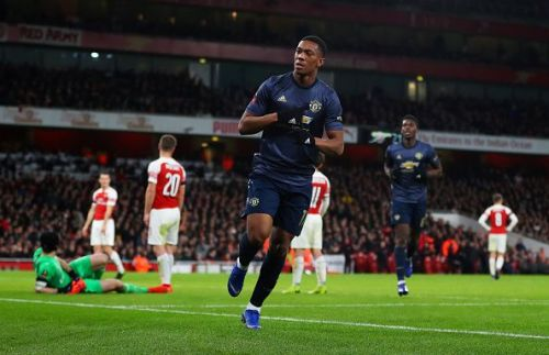 Manchester United progress to the fifth round with a 3-1 win over Arsenal