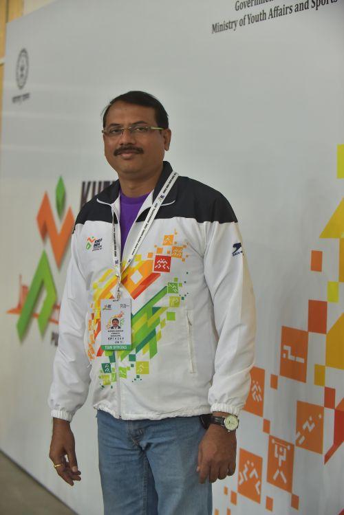 Mahendra Babhulkar, Gymnastics coach of Maharashtra at Khelo India Youth Games