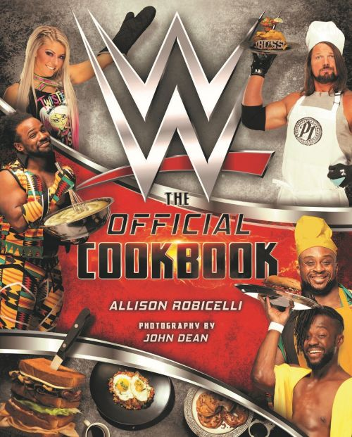 WWE: The Official Cookbook cover art