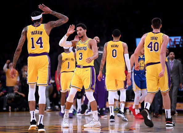 The Lakers are having a rough moment without LeBron James