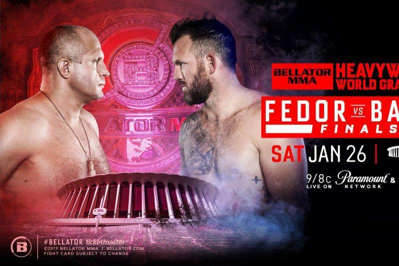Fedor Emelianenko and Ryan Bader will main event Bellator 214