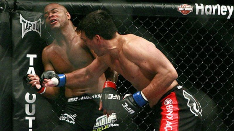 Image result for lyoto machida vs rashad evans