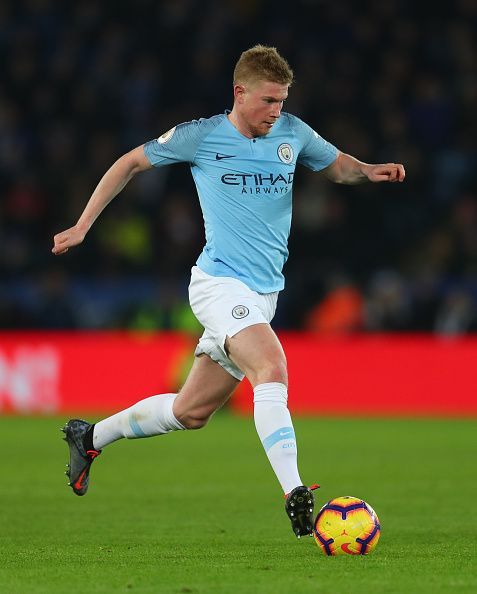 Kevin De Bruyne was instrumental to Manchester City last season