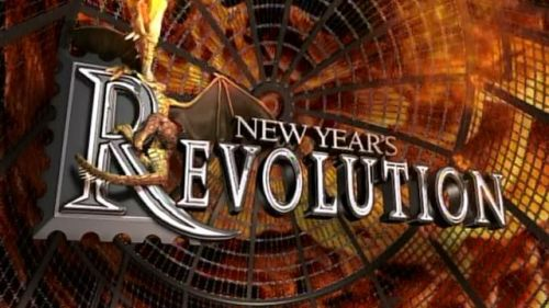 New Year's Revolution 2006 saw a huge first