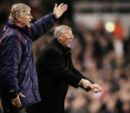 Arsene Wenger v Sir Alex Ferguson
