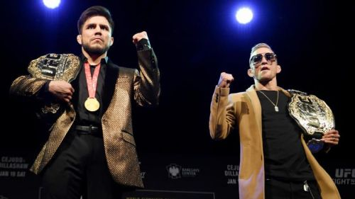 Cejudo vs. Dillashaw marks the UFC's 6th champion vs. champion fight