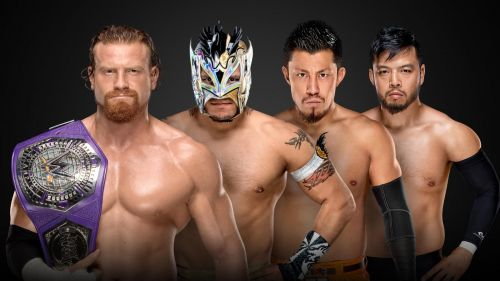 fatal four-way match contenders