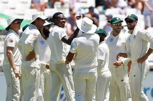 The Proteas are on the verge of a win to go 2-0 up in the series
