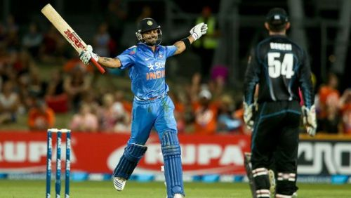 Image result for virat kohli in 2014 new zealand tour