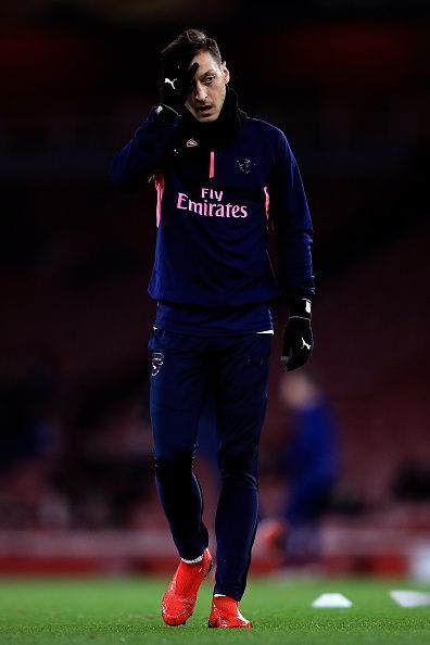 Mesut Ozil needs to step up for Arsenal.