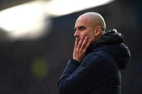 Pep Guardiola could lose one of his defenders to his former club