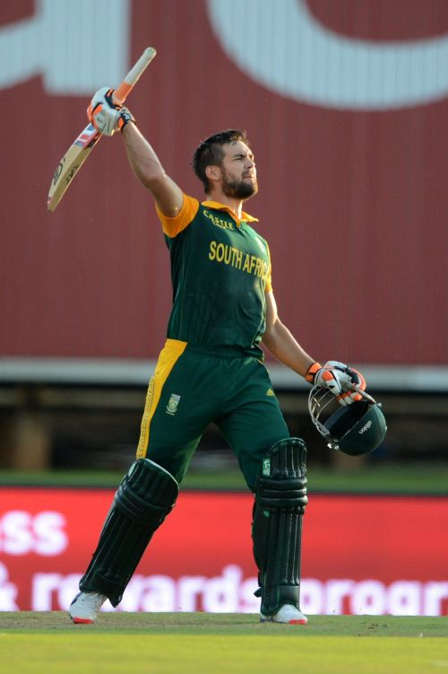 Rilee Rossouw century in same match