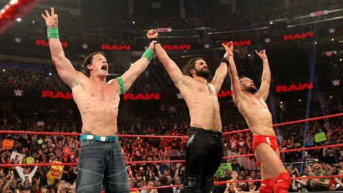 Seth Rollins picked up the big win for his team