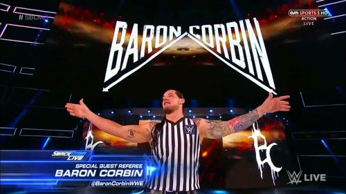 It would be better to have Corbin officiate matches than having him fight in meaningless bouts with Elias