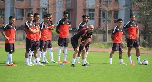 Coach Stephen Constantine has a troop helping him with his work at the Indian national football team