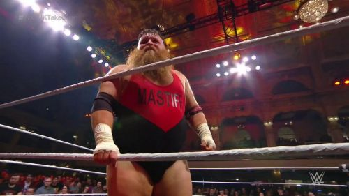 Dave Mastiff proved himself the UK's resident monster.