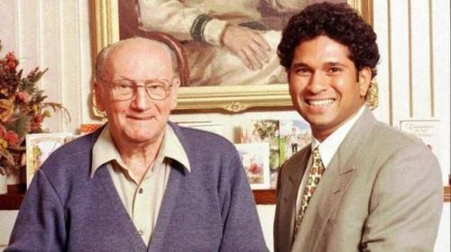 Don Bradman and Sachin Tendulkar