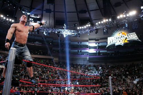 John Cena shocked the world by winning the 2008 Royal Rumble match