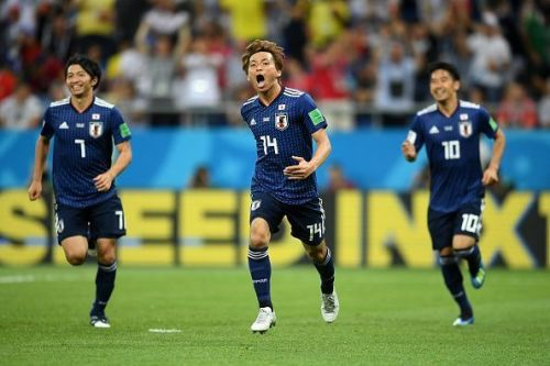 2018 has been a great football year for the Japanese national team