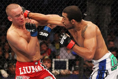 Image result for jose aldo vs mark hominick