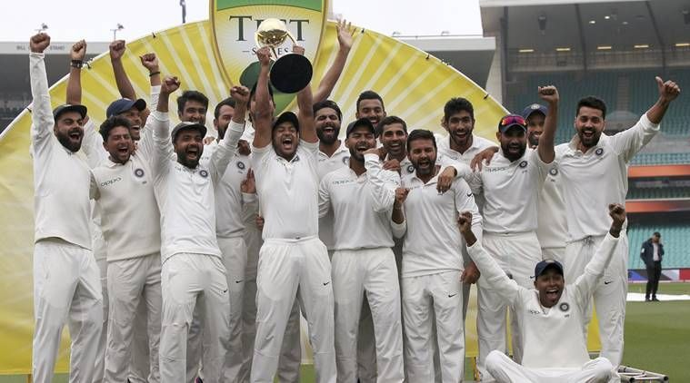 Image result for India win series at Sydney