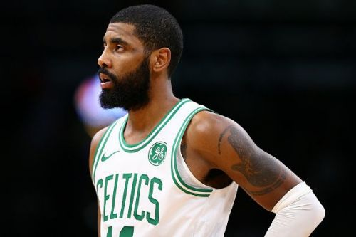 Kyrie Irving's Boston Celtics will be looking to bounce back from their surprising defeat in style