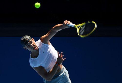 Rafael Nadal gearing up for the Australian Open