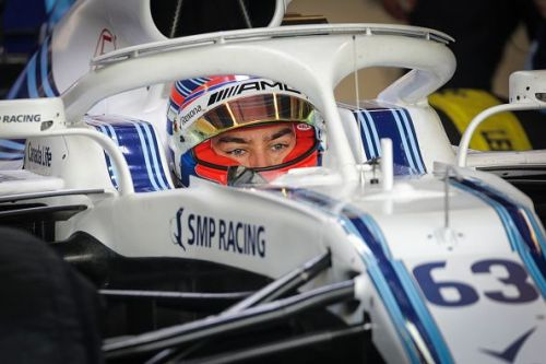 F1 End of Season Testing in Abu Dhabi - Day One, George Russell in his Williams