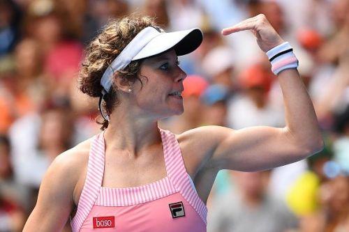 2019 Australian Open - Day 2 - Laura Siegemund from Germany