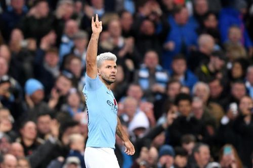 Aguero will try to lead Manchester City to a much-needed win